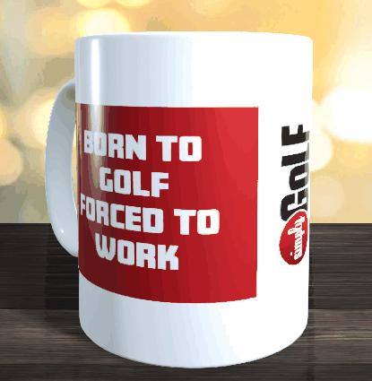 SimplyGOLF Kaffeetasse + 1 Jahr SimplyGOLF