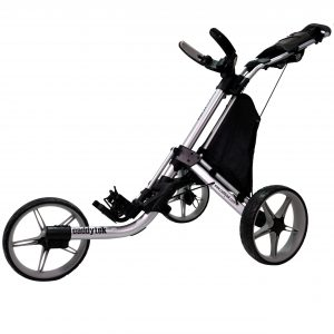 CaddyTek EZ Tour 3-Rad Push Golftrolley