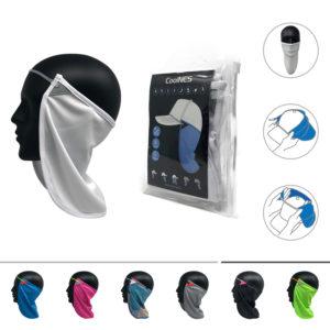 CoolNES® Nacken- und Gesichtsmaske, weiß