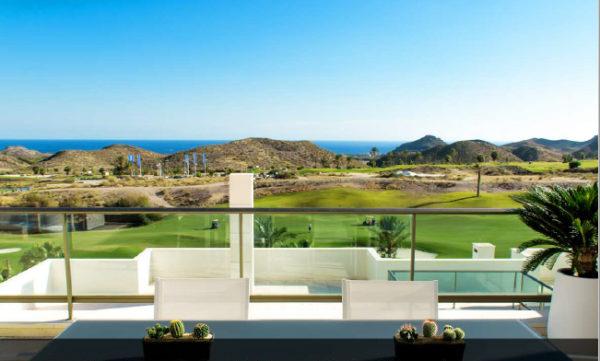 Wohnung am Golfplatz in San Juan de los Terreros (Almería)