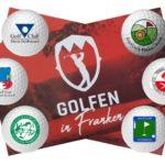 3 x Golfen in Franken Karte