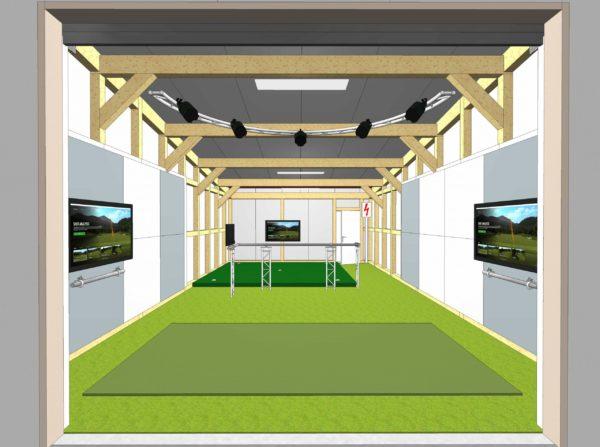 projectpar Golfhütte Tourspieler
