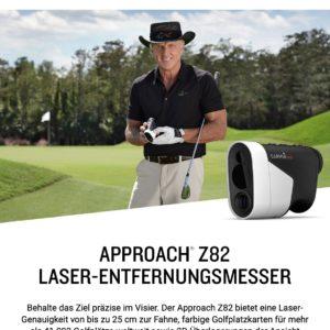 Garmin Approach Z82 GPS Laser-Entfernungsmesser