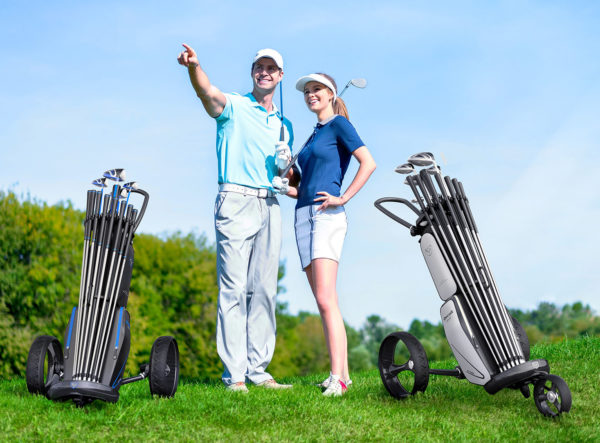 Decolt - Golfbag/Trolley Kombination