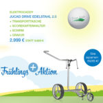 Frühlingsaktion: JuCad Drive 2.0 Elektrotrolley – Set