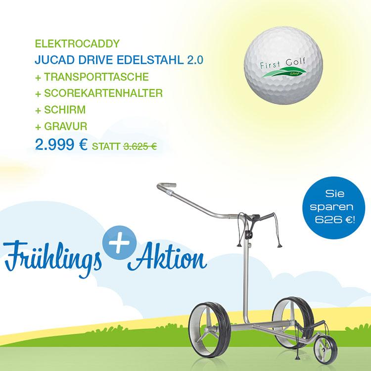 Frühlingsaktion: JuCad Drive 2.0 Elektrotrolley – Set