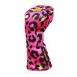 Loudmouth Driver Schlägerhaube-Neon Cheetah Pink-
