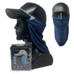CoolNES® Nacken- und Gesichtsmaske, navy blau