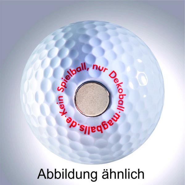 Smiley II - magnetischer Golfball (magball)