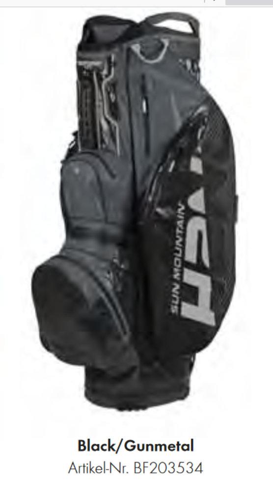 Sun Mountain H2NO LITE Cart Bag Golftasche Waterproof 2020er statt €399,90