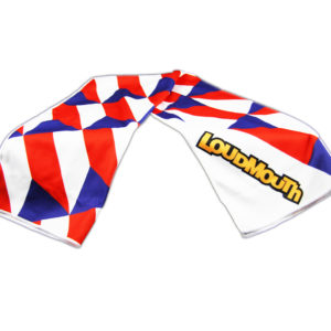 Loudmouth Cooling Towels - Czech Flag -