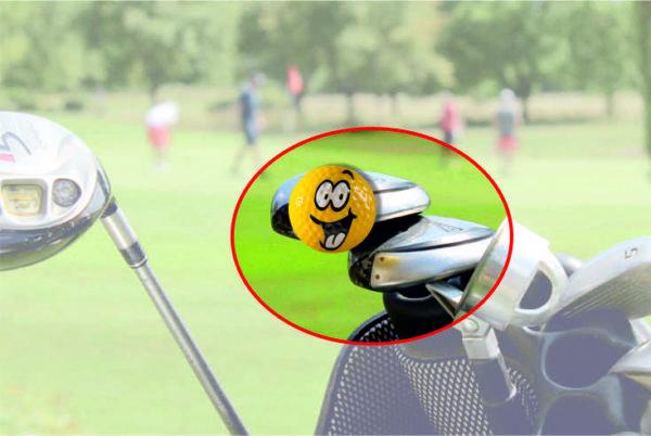 Herz - magnetischer Golfball (magball)