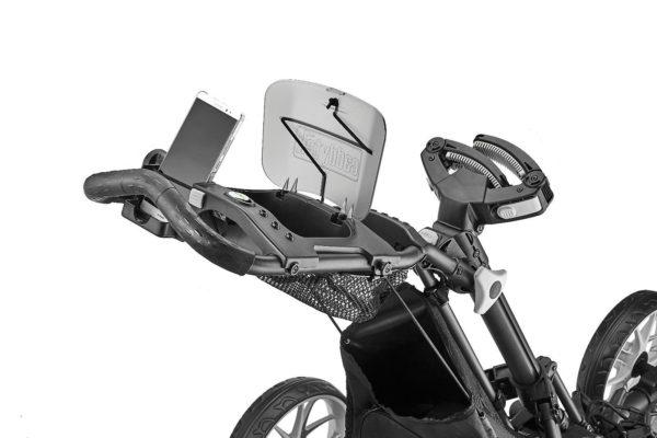 CaddyTek EZ Tour 360 Swivel 3-Rad Push Golftrolley