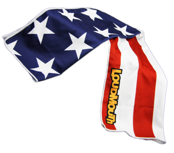 Loudmouth Cooling Towels - Stars & Stripes -