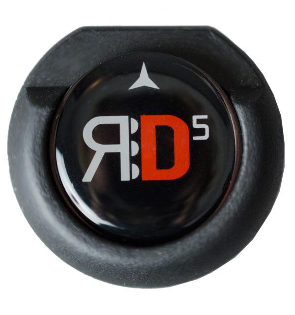 Puttergriff RD-5 schwarz/weiß