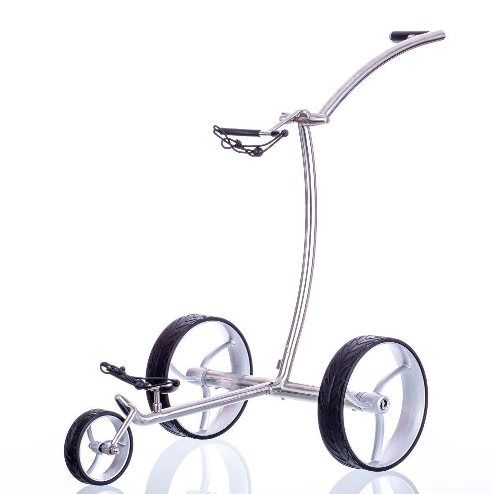 Angebot: trendGOLF walker Elektro Golftrolley Edelstahl, incl. Zubehör