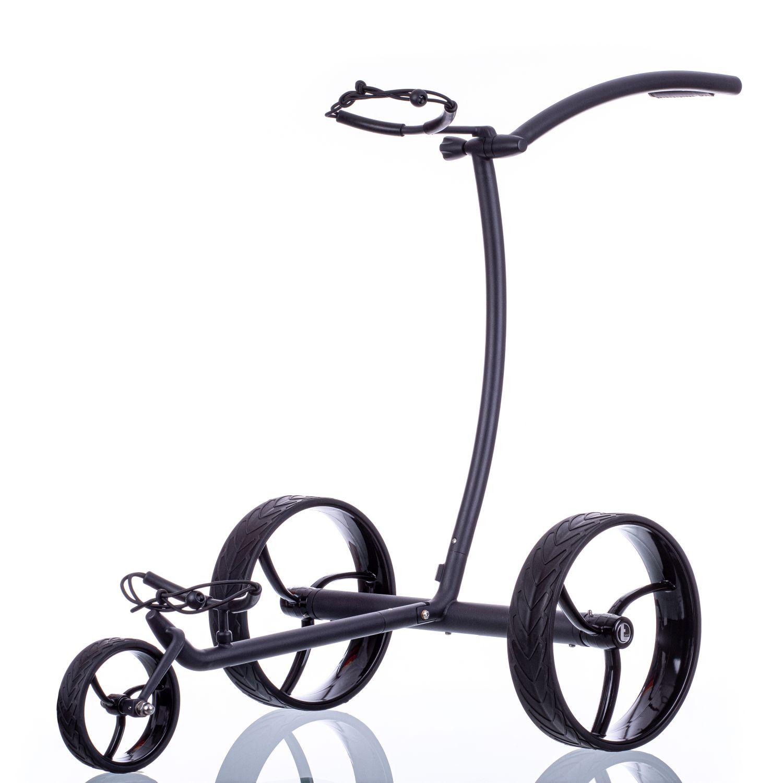 Angebot: trendGOLF walker Elektro Golftrolley Edelstahl schwarz, incl. Zubehör