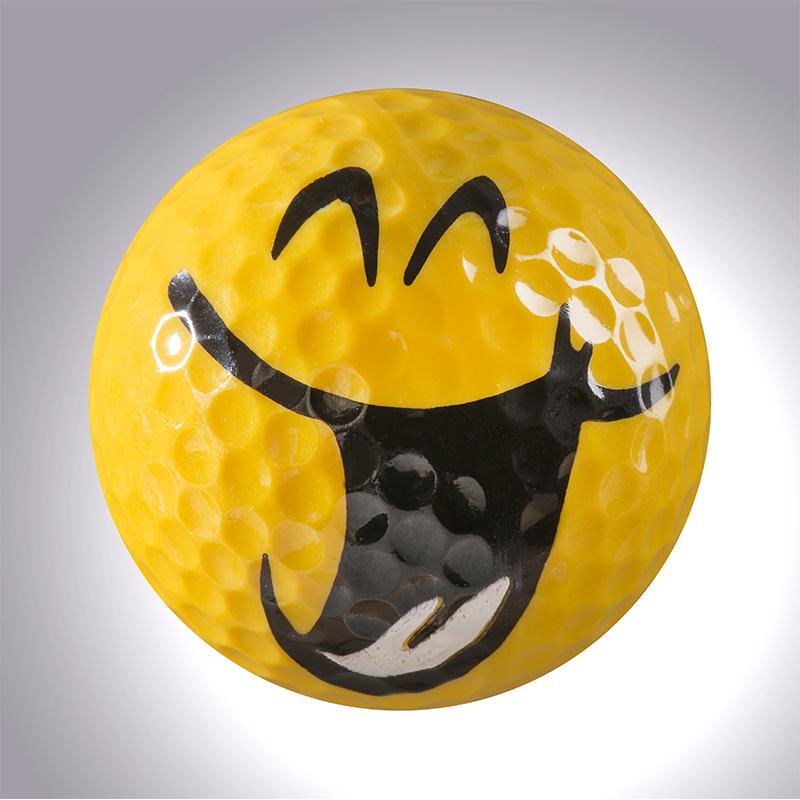 Smiley II – magnetischer Golfball (magball)