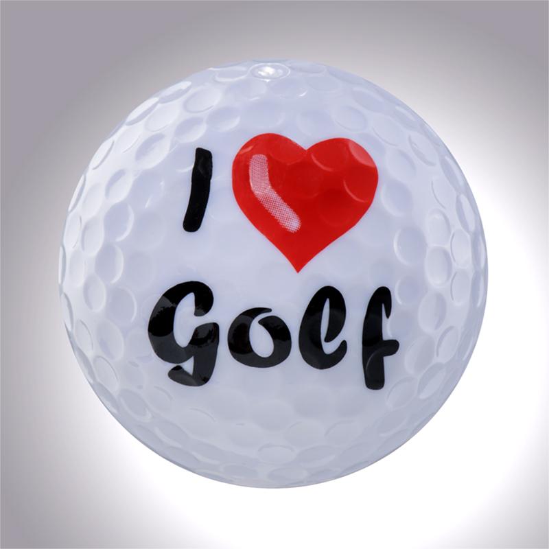 I Love Golf (weiss) – magnetischer Golfball (magball)