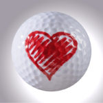 Herz – magnetischer Golfball (magball)