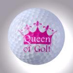 Queen of Golf – magnetischer Golfball (magball)