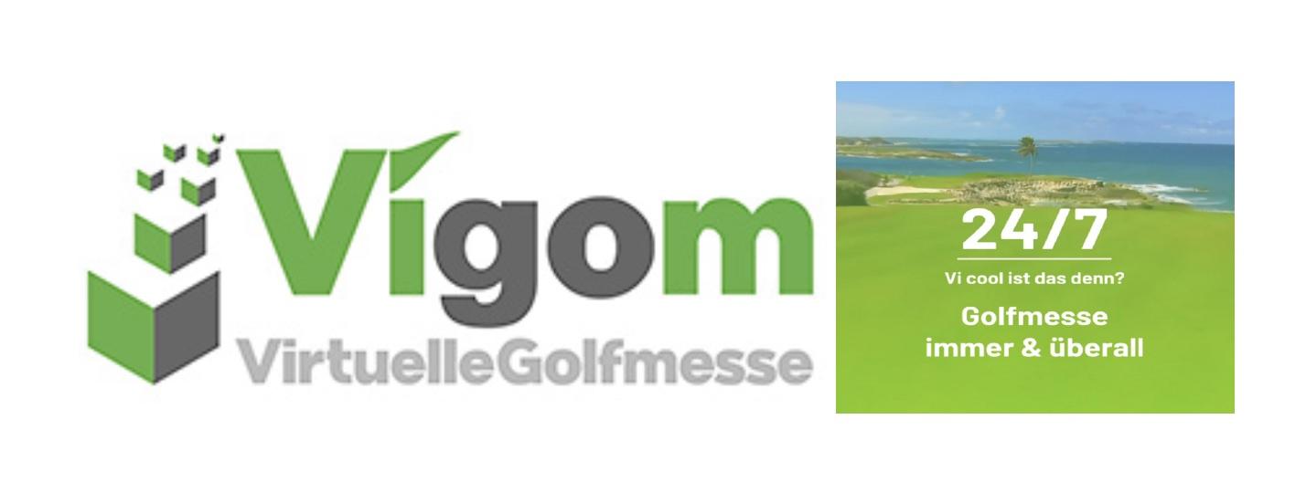 Vigom - virtuelle Golfmesse Pressemitteilung 01.07.2021