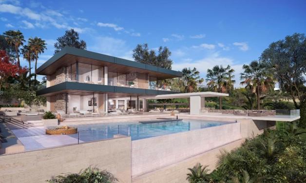 Wunderschöne Villa mit Meerblick in Benahavis-Marbel