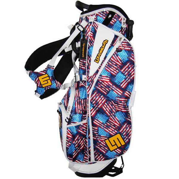 Loudmouth Stand Bag-Antique Flag-