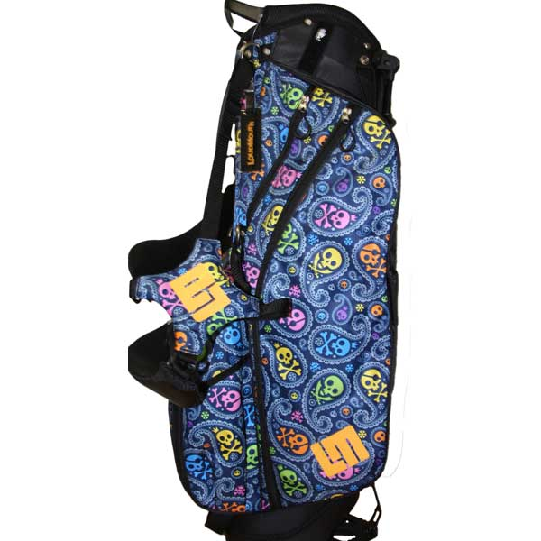 Loudmouth Stand Bag-Jolly Roger-
