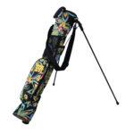 Loudmouth Training/Speed Golf Bag-Shagadelic Black-