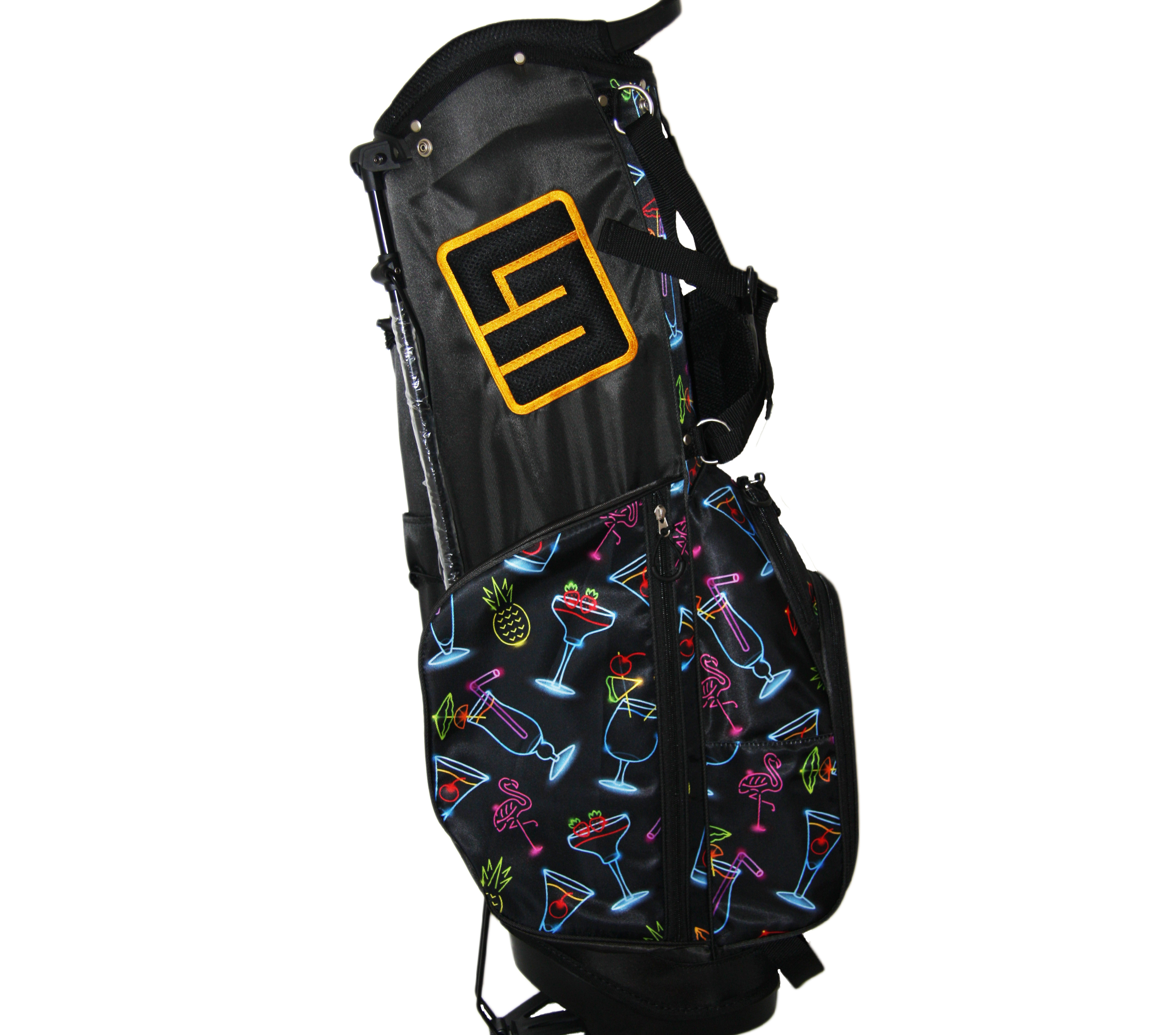 Loudmouth Stand Bag-Neon Cocktails-