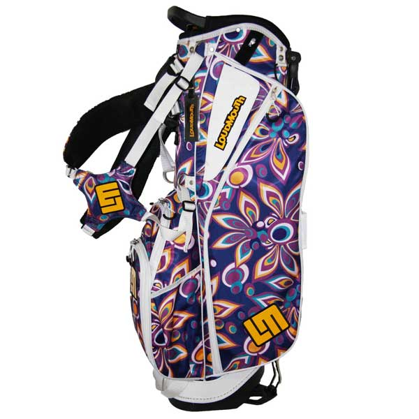 Loudmouth Stand Bag-Shagadelic Purple-