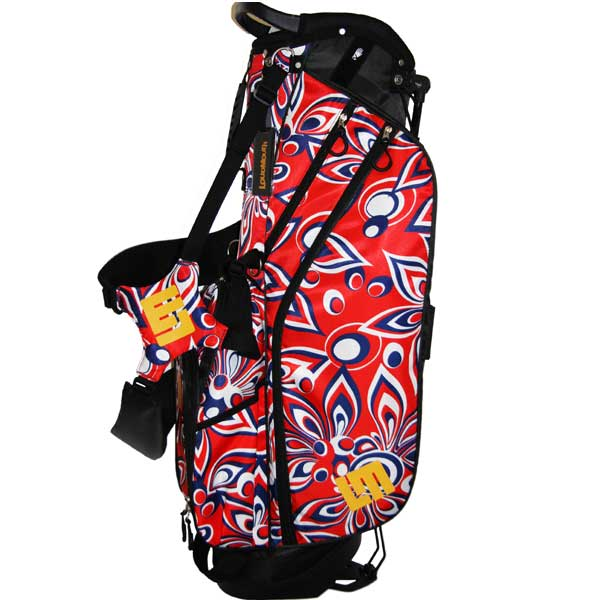 Loudmouth Stand Bag- Shagadelic Red –