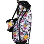 Loudmouth Stand Bag-Skull Flowers-
